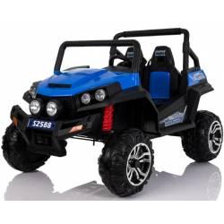 4X4 Buggy 24 V bleu deux places