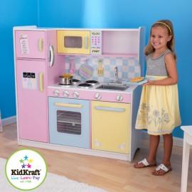 Grande cuisine pour enfant pastel