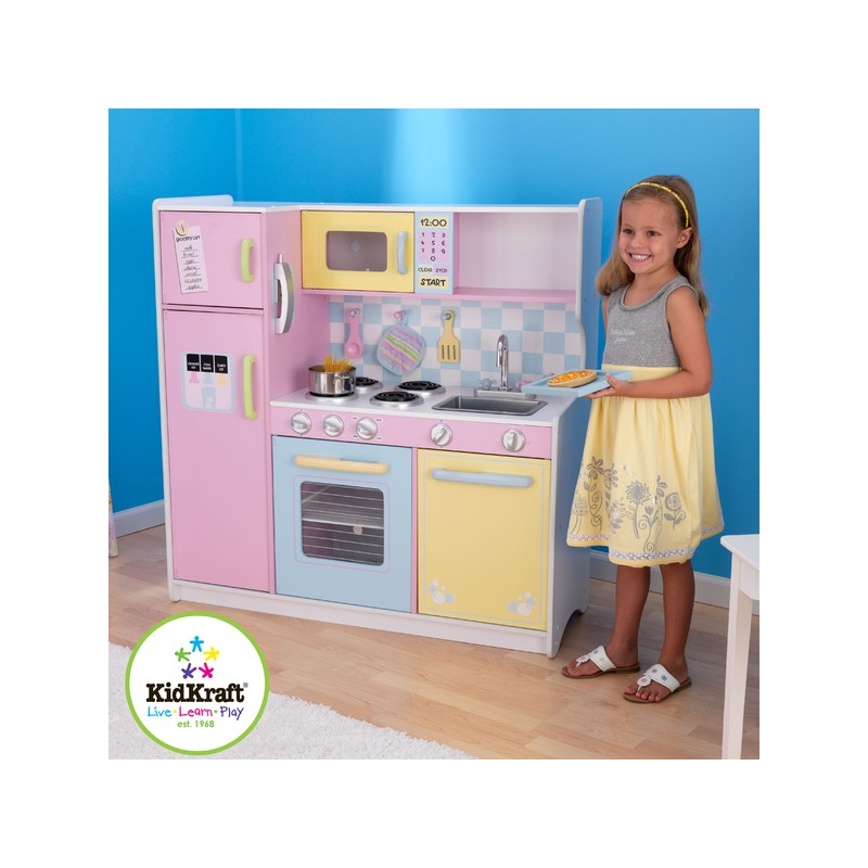 grande cuisine pastel cuisine pour enfant. Black Bedroom Furniture Sets. Home Design Ideas