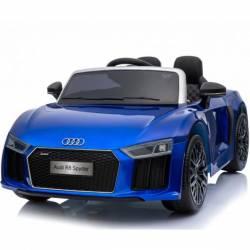 Voiture électrique pour enfant Audi R8 Spyder RS bleue