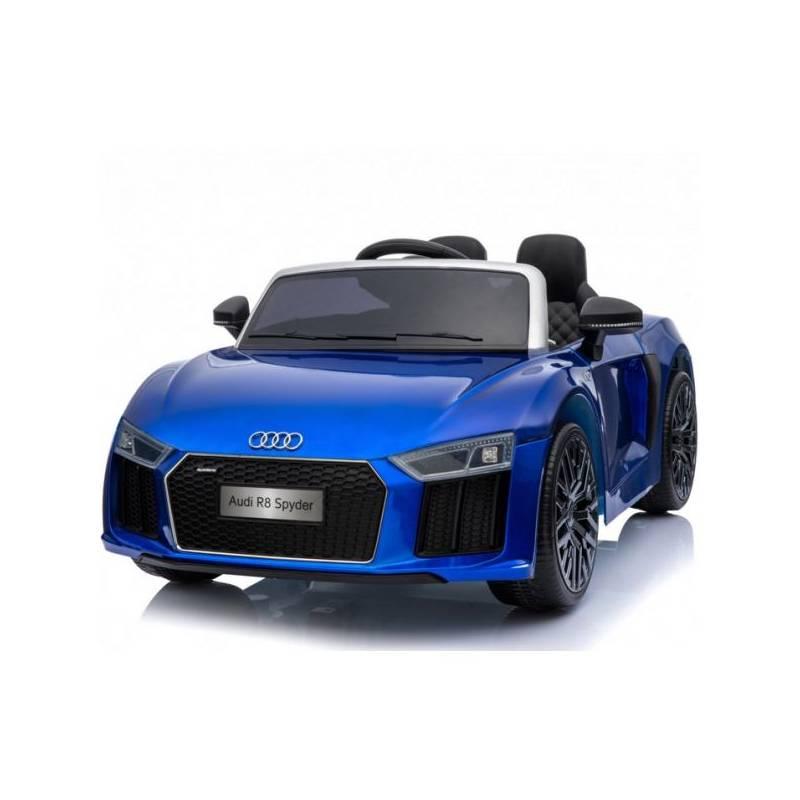 voiture lectrique pour enfant audi r8 spyder rs bleue. Black Bedroom Furniture Sets. Home Design Ideas