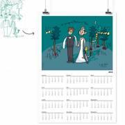 calendrier poster personnalisée