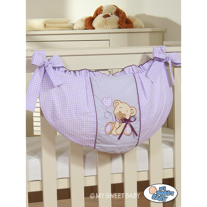 sac jouets pour b b teddy bear chambre b b. Black Bedroom Furniture Sets. Home Design Ideas