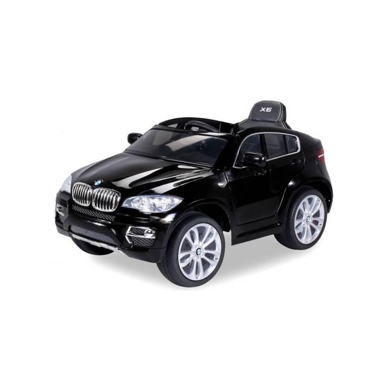 voiture lectrique pour enfant bmw x6 luxe m tallis e noir si ge cuir. Black Bedroom Furniture Sets. Home Design Ideas