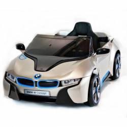 voiture électrique pour enfant BMW i8 bleue