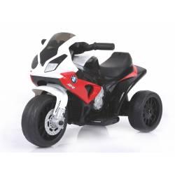Moto électrique BMW S1000 RR 6 V rouge - moto électrique pour enfant