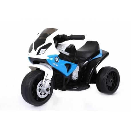 Moto électrique BMW S1000 RR 6 V bleue- moto électrique pour enfant