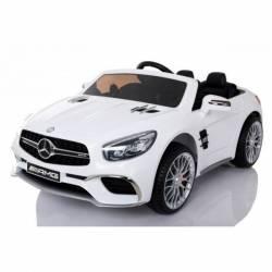 Voiture électrique pour enfant Mercedes SL65 blanche