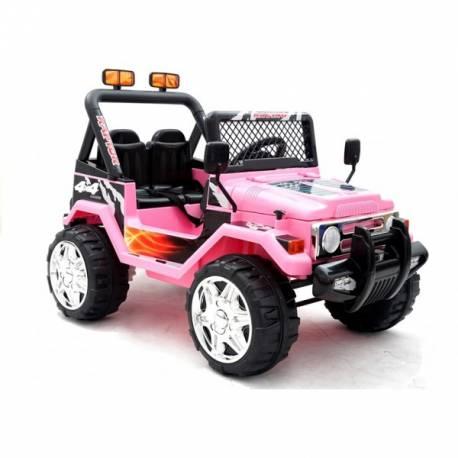 Jeep Électrique Rose Places 12v 2 4x4 ZuPkXOi