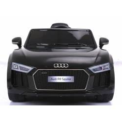 Voiture électrique pour enfant Audi R8 Spyder noire bluetooth