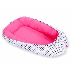 Réducteur de lit bébé dots mint