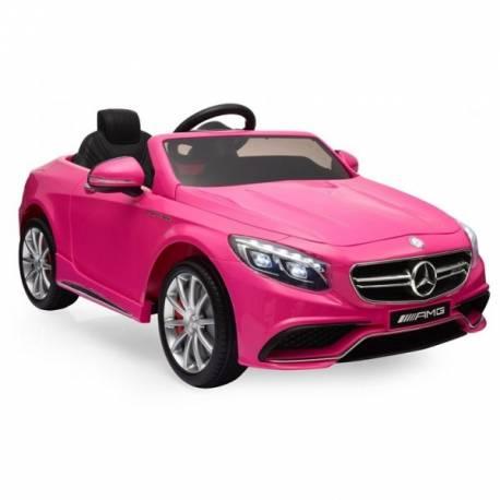 Voiture électrique pour enfant Mercedes SL65 rose