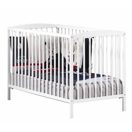 Lit pour bébé à barreaux New Nao Sauthon