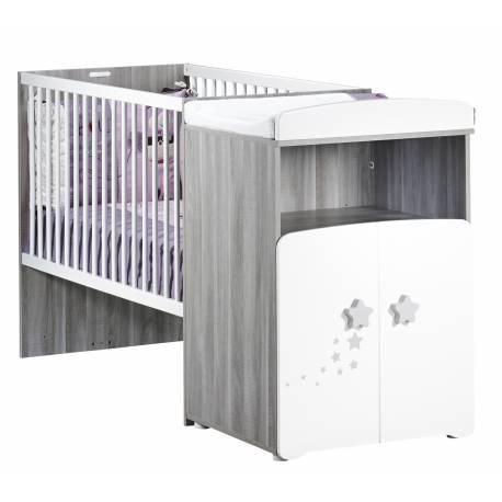Lit chambre transformable pour bébé Nao