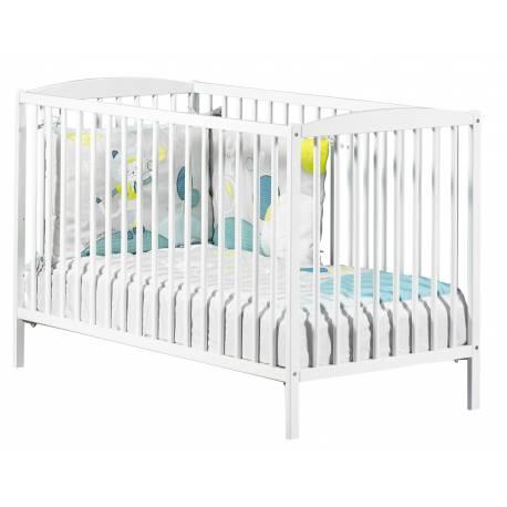 Lit pour bébé à barreaux New Basic Sauthon