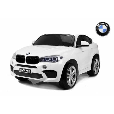 voiture électrique pour enfant BMW X6 M blanche