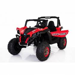 4X4 Buggy UTV-MX 24 V LCD rouge deux places
