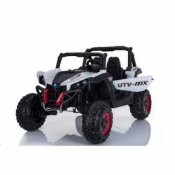 4X4 Buggy UTV-MX 24 V LCD blanc deux places