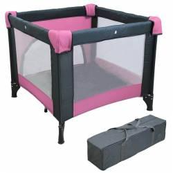 Parc pliant pour bébé rose