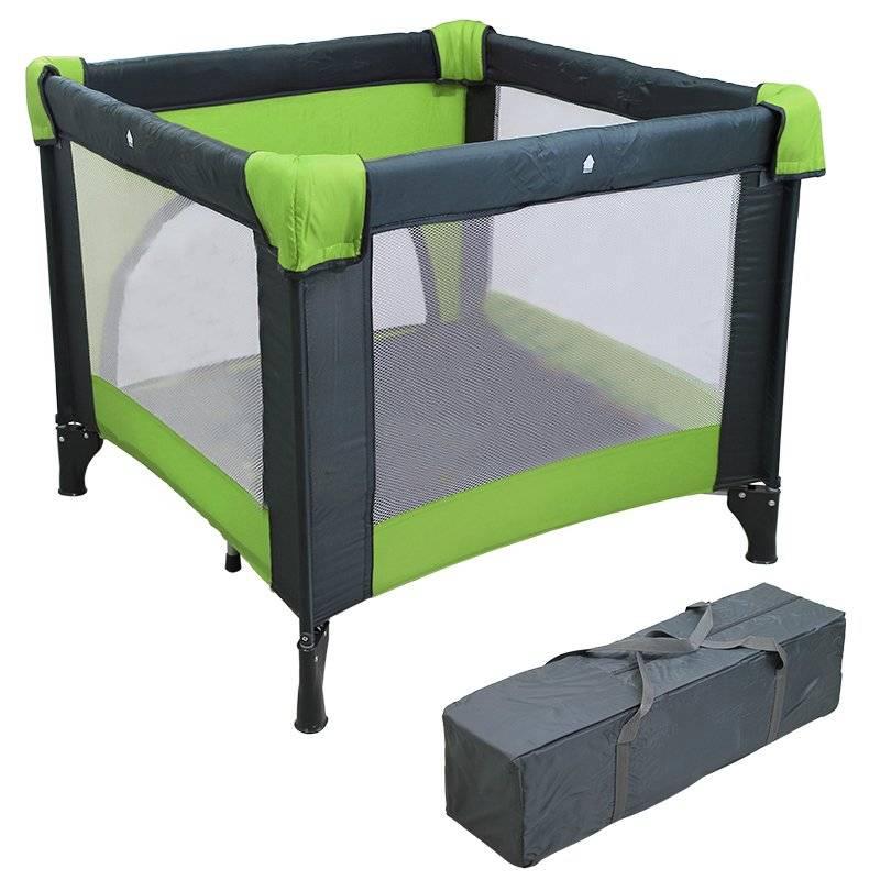 parc pliant pour b b vert. Black Bedroom Furniture Sets. Home Design Ideas