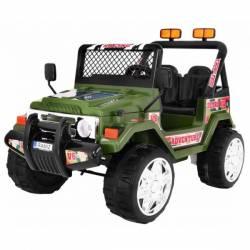 4X4 jeep électrique 2 places 12V noire