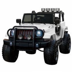 4X4 jeep rancherio électrique noir