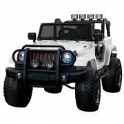 4X4 jeep WXE 24 V électrique blanc deux places