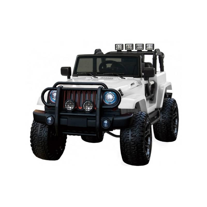 4x4 jeep wxe 24 v lectrique noir deux places voitures. Black Bedroom Furniture Sets. Home Design Ideas