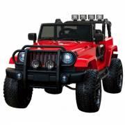 4X4 jeep WXE 24 V électrique rouge deux places
