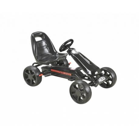 Karting pour enfant à pédales noire