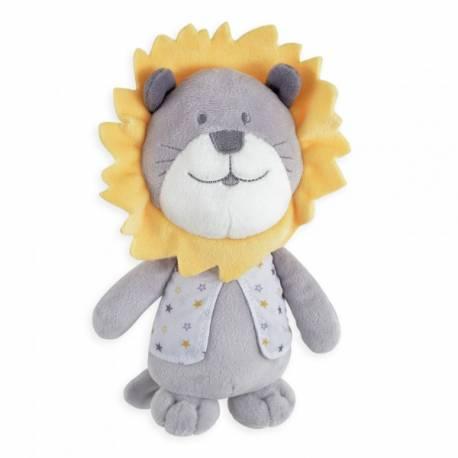 Doudou lion 20 cm collection fanfan et léo