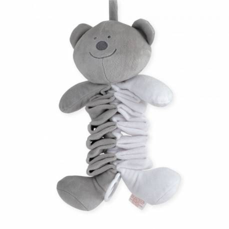 Peluche musicale ours collection Trois petits t'ours