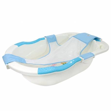 Baignoire baby avec hamac bleu
