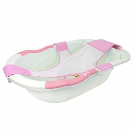 Baignoire pour bébé avec hamac rose
