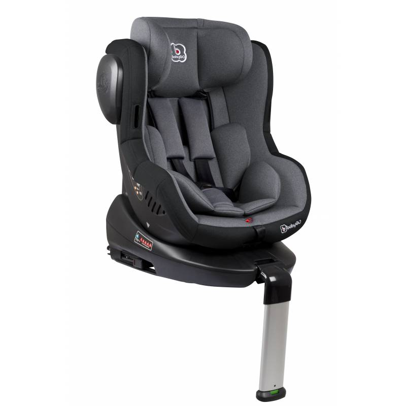 si ge auto iso 360 isofix inclinable groupe 0 1 gris babygo. Black Bedroom Furniture Sets. Home Design Ideas