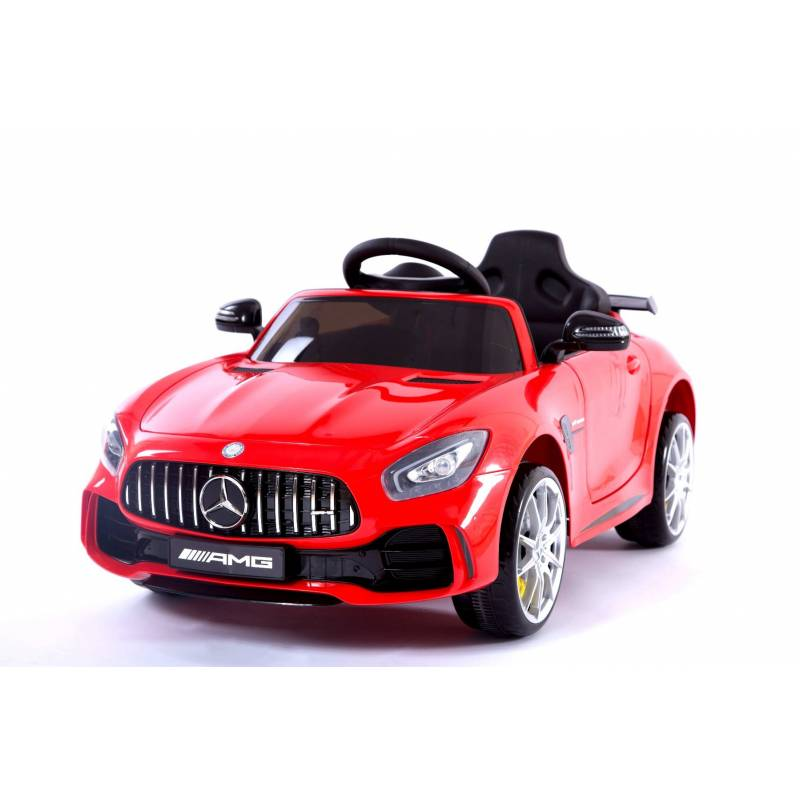 voiture lectrique pour enfant mercedes gtr rouge. Black Bedroom Furniture Sets. Home Design Ideas