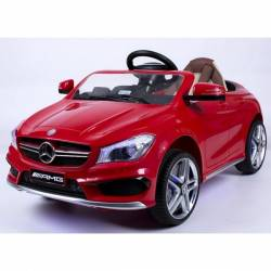Voiture électrique pour enfant Mercedes Benz CLA45 rouge