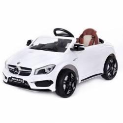 Voiture électrique pour enfant Mercedes Benz CLA45 blanche