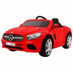 Voiture électrique pour enfant Mercedes Benz SL500 rouge
