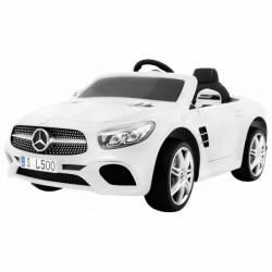 Voiture électrique pour enfant Mercedes Benz SL500 blanche