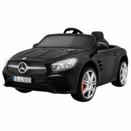 Voiture électrique pour enfant Mercedes Benz SL500 noire métallisée