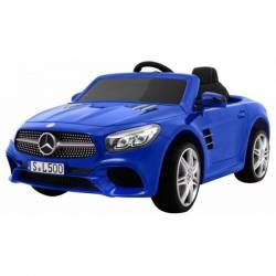 Voiture électrique pour enfant Mercedes Benz SL500 bleue métallisée