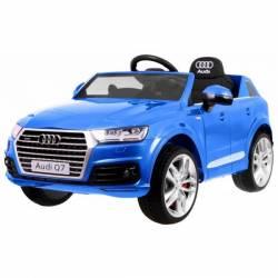Voiture électrique pour enfant Audi Q7 S Line peinture noire- pack luxe