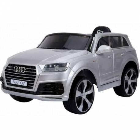 Voiture électrique pour enfant Audi Q7 métallisée grise