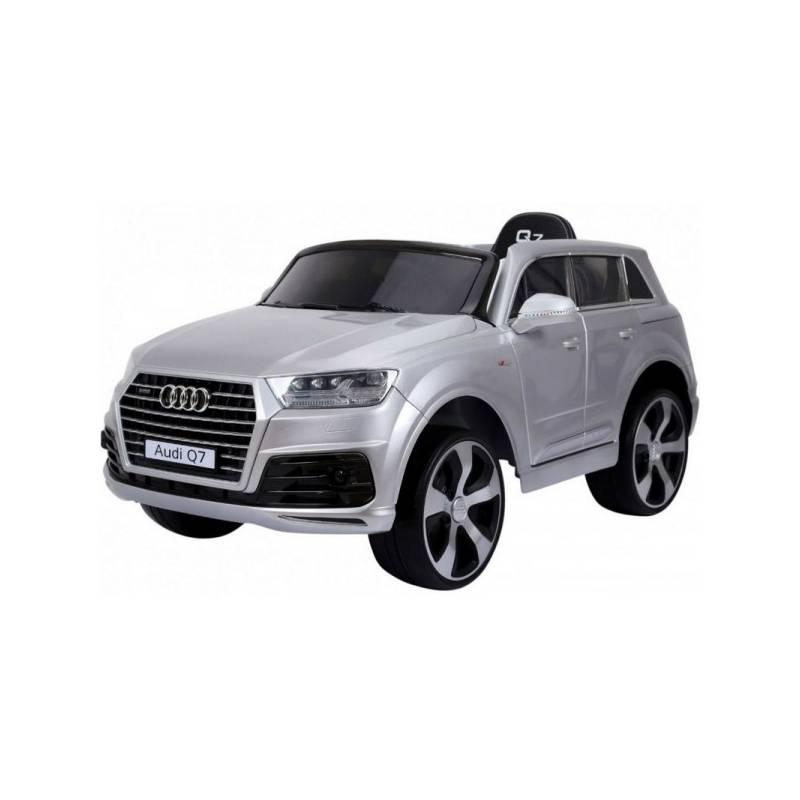 Voiture électrique pour enfant Audi Q7 métallisée grise. Loading zoom e7fc81d39866