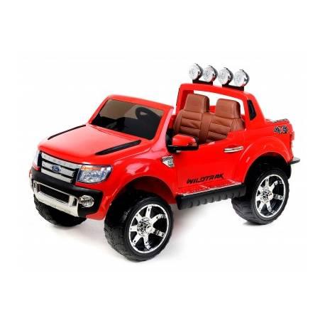voiture lectrique ford ranger wildtrike deux places en cuir rouge. Black Bedroom Furniture Sets. Home Design Ideas
