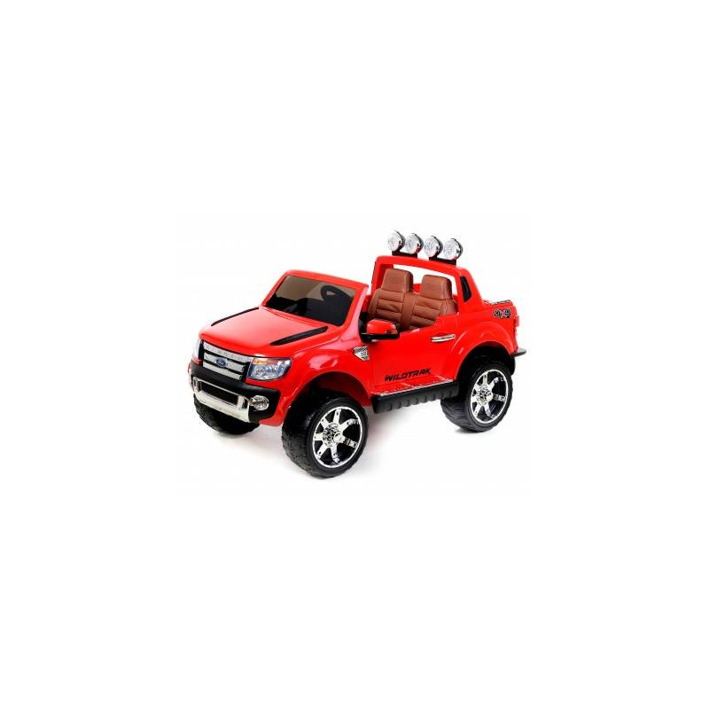 voiture lectrique ford ranger wildtrike deux places en cuir rouge. Black Bedroom Furniture Sets. Home Design Ideas