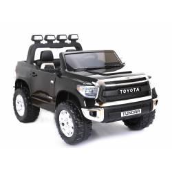 Voiture électrique Toyota Tundra deux places en cuir blanche