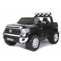 Voiture électrique Toyota Tundra XXL deux places en cuir noire