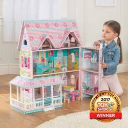 Maison de poupées en bois Abbey